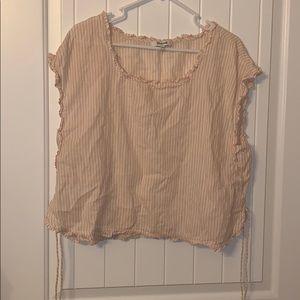madewell blouse XL